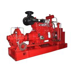 Kirloskar Motor Coupled Fire Fighting Pump Set, Max Flow Rate: upto 800m3/hr