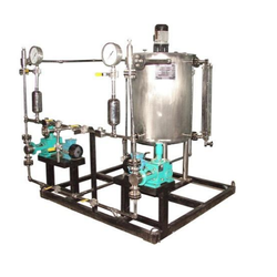 Skid Mounted Chemical Dosing Pumps
