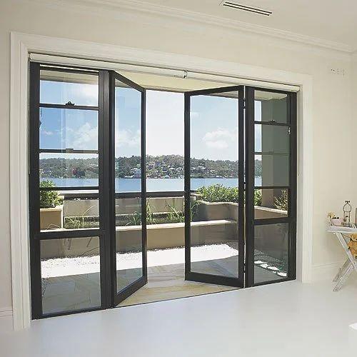 Swing Aluminium Glass Door At Rs 350 Square Feet Aluminium Glass