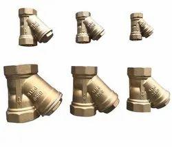Brass Y Strainer SS Filter