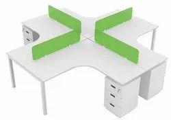 Office Cubicle,l Shape Workstation