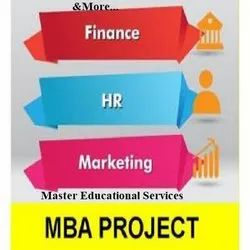 MBA Project Report Writing