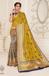 Fancy Party Designer Silk Saree