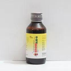 Terbutaline Sulphate 2.5mg Guaiphenesin 100mg  Bromhexine 8mg Menthol 5mg Syrup