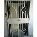 White Iron Main Door
