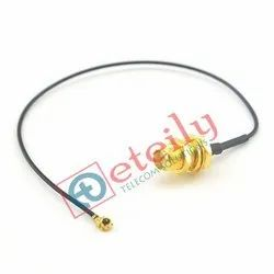 Rp Sma Female To Ufl Ipex Cable For Antenna 1.13Mm Cable