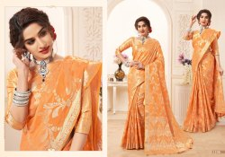 Silk Printed Designer Saree, Length: 6 m