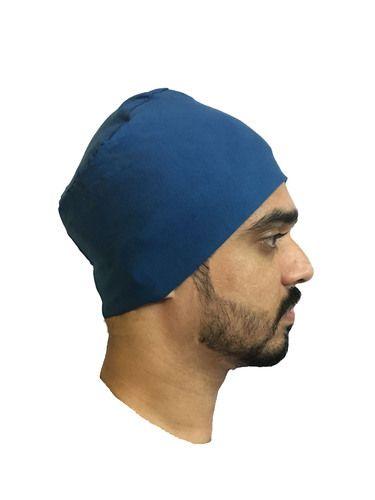 2970c4eca29 BLUE BEANIES MENS BEANIES STYLISH BEANIES CAP FOR MEN BIKERS BEANIES UNDER  HELMET CAPS CHEMO