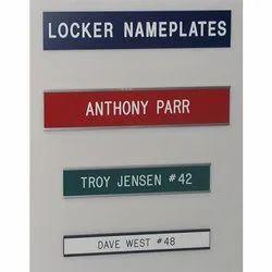 Plastic Nameplates