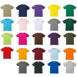 Cotton Casual Wear Mens Round Neck T Shirt, Size: S - XXL