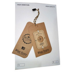 Cardboard Clothing Tag