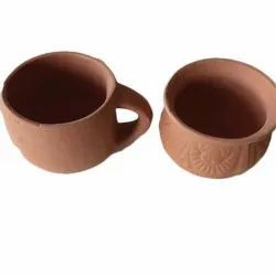 Terracotta Tea Cup, Capacity: 125 Ml, for Home