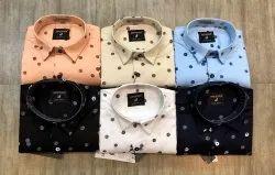 John Willsone Cotton Mens Printed Shirt, Size: M to XXl