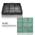 M261 Navarathna Floor Tile Rubber Mould