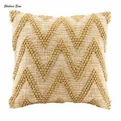 Chevron Hand Woven Decorative Designer Cushion Case Throw Pillows