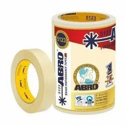White Abro Masking Tape 2, Coverage: Plastic, Packaging Size: Box