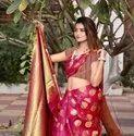 Weaving Pure Heavy South Silk Saree
