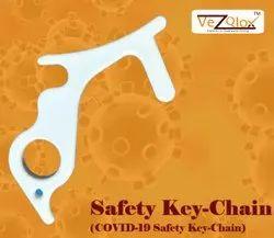 Contact less corona key chain