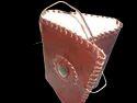 Handmade Leather  Binding Journal with Stone