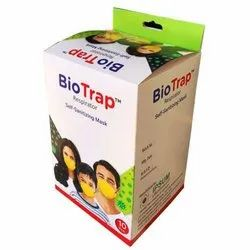 Bio Trap Respirator Self Sanitizing Mask