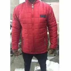 Polyester Men Designer Winter Jackets, Size: Small To Large