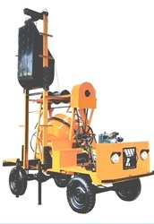 Self Drive Concrete Mixer with Lift