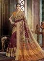 Party Wear Khadi Silk Saree