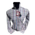 Mens Cotton Check Casual Shirt, Size: S, M And L
