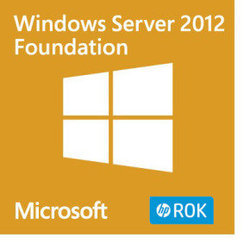 HPE Microsoft Windows Server 2012 Foundation Rok