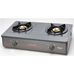Stainless Steel Paloma Two Burner Stove, for Kitchen