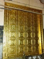 Gold Leafing On Doors