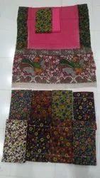 Printed Kalamkari Cotton Dress Materials