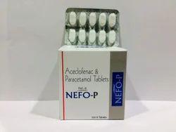 Aceclofenac 100 mg+ Paracetamol 325 mg