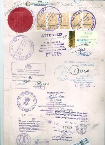 mumbai/ pune university educational certificate verification in