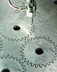 Precision Gears Water Jet Cutting Service