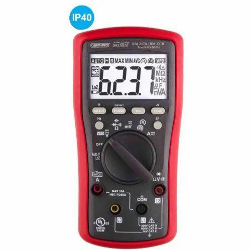 TRMS Digital Multimeter With VFD, EF- Detection, 3 Phase