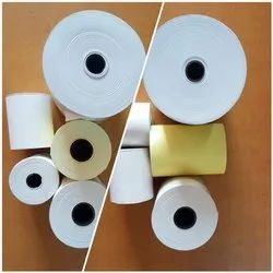 White, Yellow Plain Thermal Paper Rolls