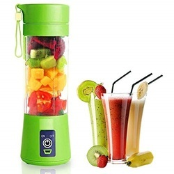 New Portable Battery Operated Juice Blender Rechargeable Fruits Mixer Bottle