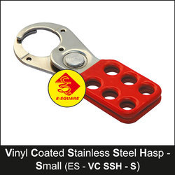 Vinyl Coated Stainless Steel Small Lockout Hasp