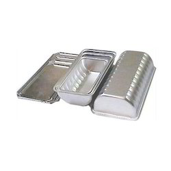 Aluminium Rounded Bottom Cover Baking Tins