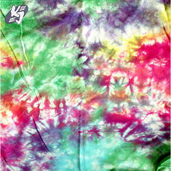 Multi Tie Dyed Fabric