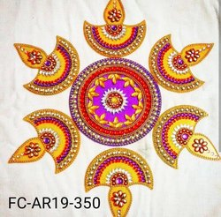 Decorative DIYA Acrylic Rangoli
