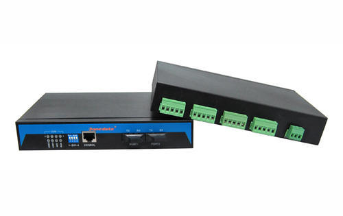Serial to Fiber Converter - RS232/485/422 to Fiber Optic
