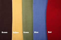 Cotton Made Mulit Color Waffle Weave Tea Towels