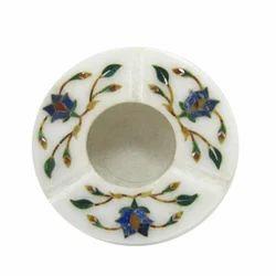 Marble Ashtray Stone Inlay Decorative