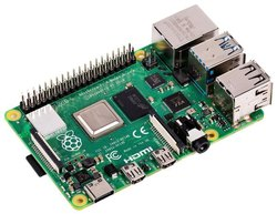 Raspberry Pi 4 Computer Model B 4GB Ram, Processor: 64-Bit Quad Core