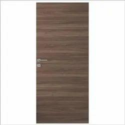 Brown Laminated Natural Veneer Doors, For Home