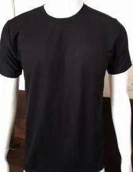 Round Half Sleeve Mens Cotton T-Shirt