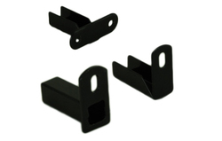 fence-straight mounting-brackets