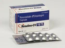 Rosuvastatin Calcium 10 Mg Clopidogrel 75 Mg Capsules